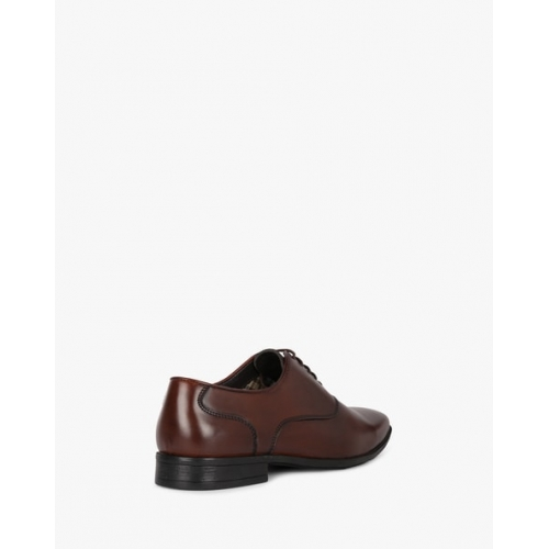 STELVIO Brown Synthetic Almond-Toe Formal Shoes