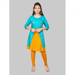 Aarika Green Pure Cotton Kurta And Legging Set
