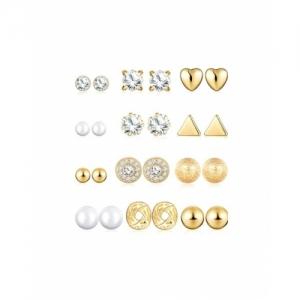 Jewels Golden Brass galaxy Earrings