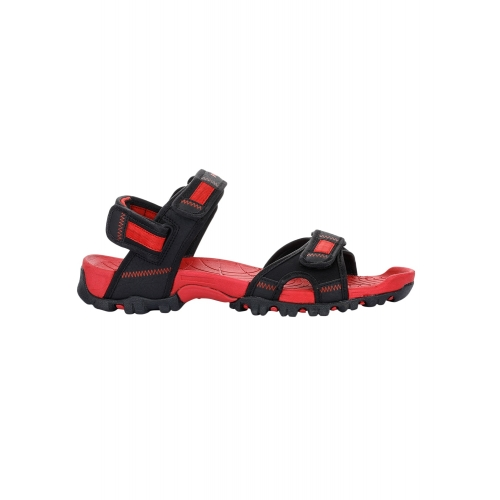 Liberty Shoes Red Synthetic Velcro sandals