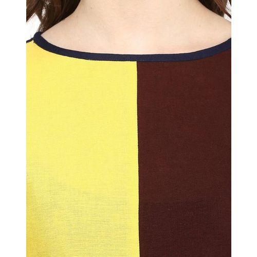 Ives Colour-block Straight Kurta