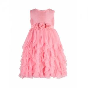 Toy Balloon Pink Polyester Sleeveless Dress