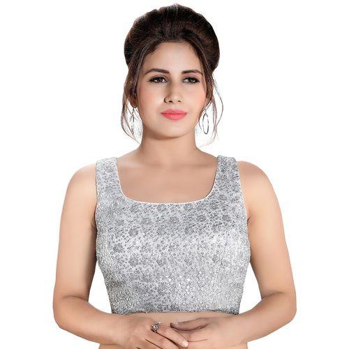 Salwar Studio back detail embroidered blouse