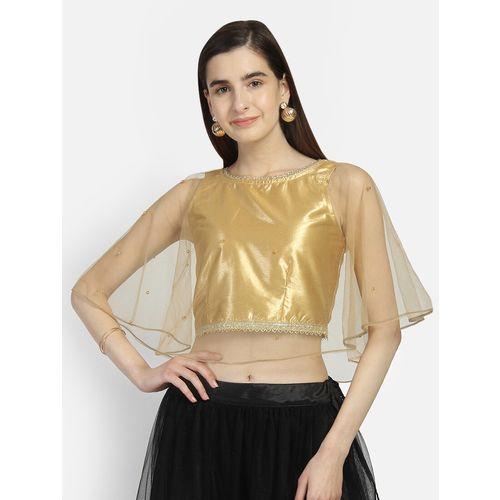 studiorasa cape solid blouse