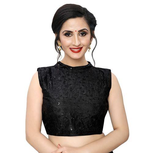 Bhavyam tonal embroidered blouse