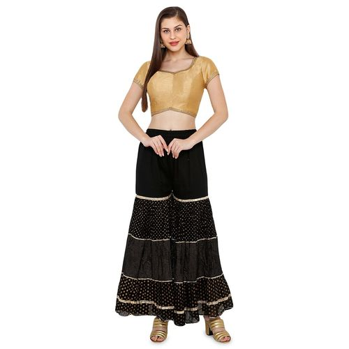 Salwar Studio back dori solid blouse