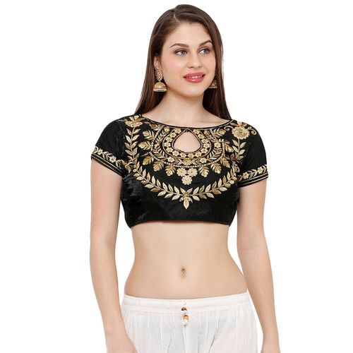 Salwar Studio self design embroidered blouse