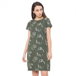 Globus round neck t-shirt dress