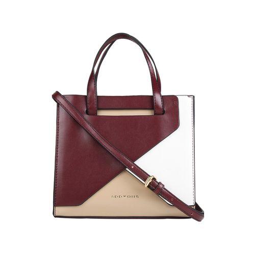 Addons wine leatherette (pu) regular handbag