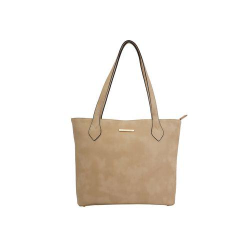 Lapis O Lupo beige leatherette (pu) regular handbag