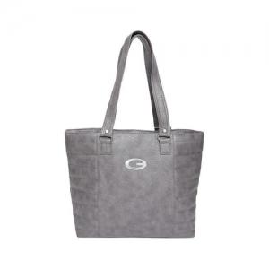 V2 VALUE & VARIETY grey leatherette (pu) handbag