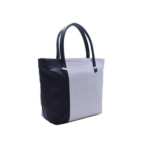 HORRA black leatherette (pu) regular handbag