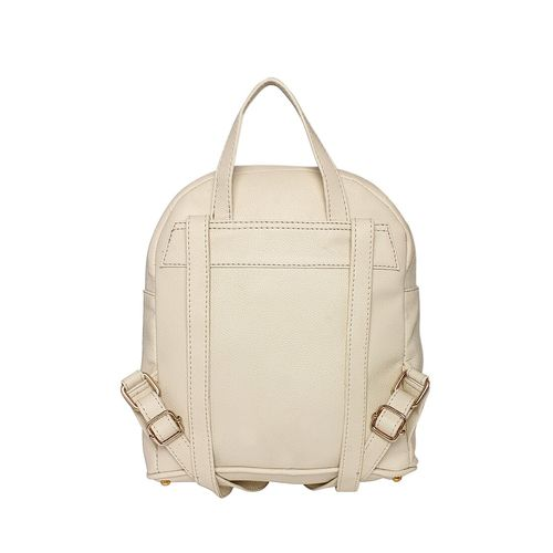 Lapis O Lupo beige leatherette (pu) fashion backpack