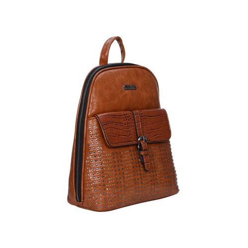 Esbeda tan leatherette (pu) fashion backpack