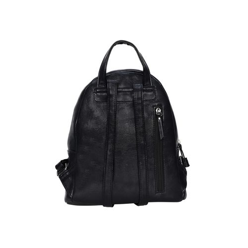 Esbeda black leatherette (pu) fashion backpack