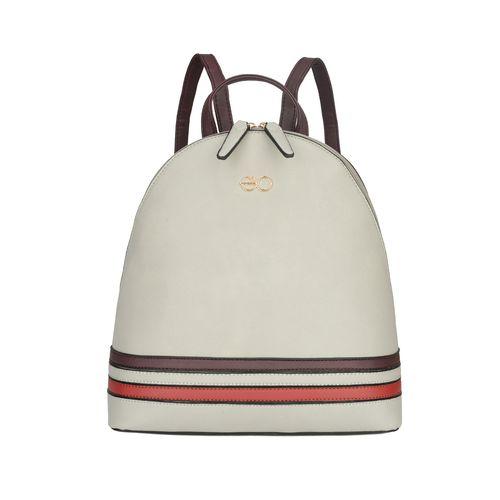E2O grey leatherette (pu) fashion backpack