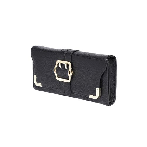 Addons black leatherette (pu wallet
