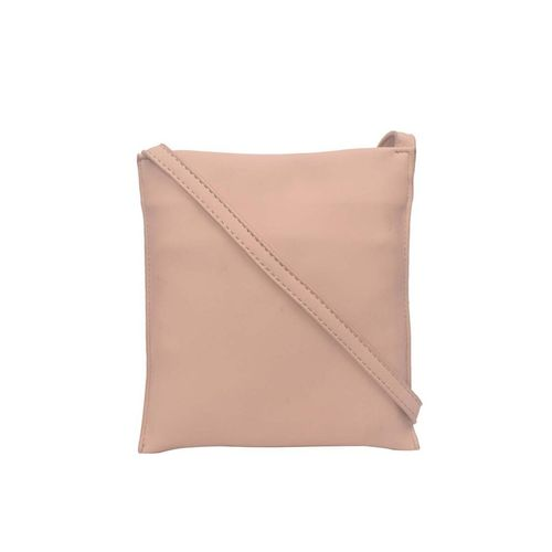 Bagkok beige leatherette (pu) regular sling bag