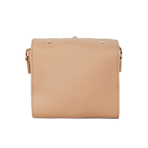 KIELZ beige leatherette (pu) regular sling bag