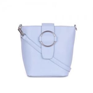 Bagkok blue leatherette regular slingbag