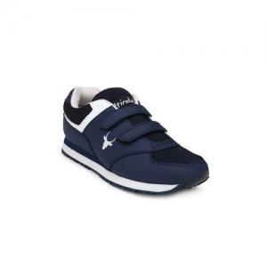 Hirolas blue slip on sport shoes