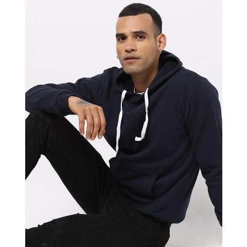 Campus Sutra Cotton Hoodie with Insert Pockets