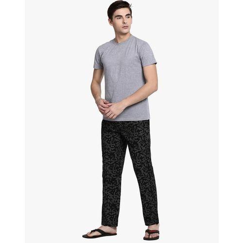 Pepe Jeans Printed Mid-Rise Pyjamas with Elasticated Drawstring Waistband