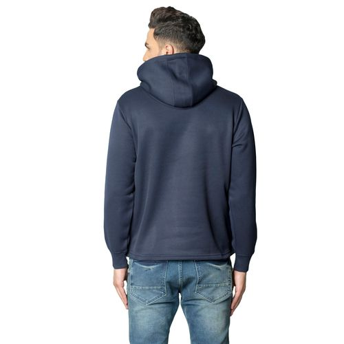 Black Studds Navy Hooded Sweatshirt