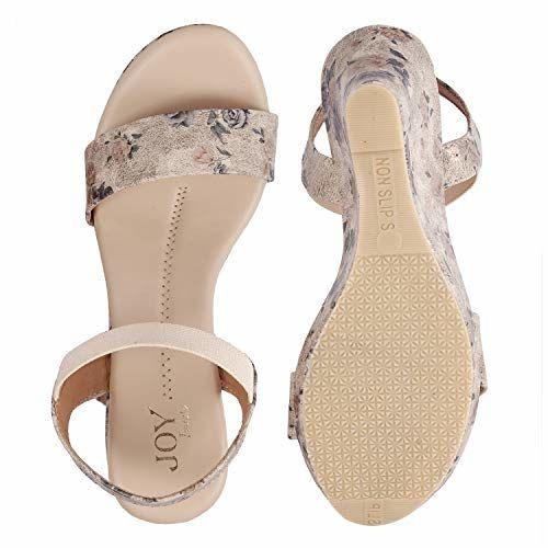 JOY Block Heel Casual Sandal for Women V338