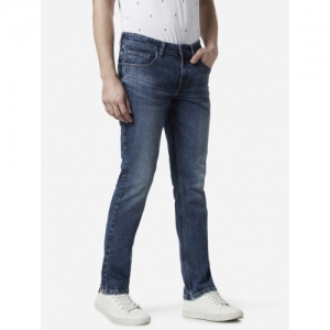 WES Casuals by Westside Blue Relaxed Fit Jeans