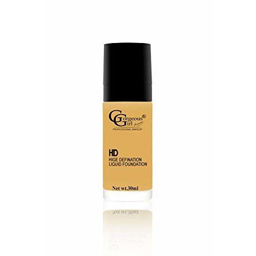 Gorgeous Girl Makeup High Defination Liquid Foundation, Caramel, 30ml (GGF-05)