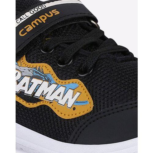 Campus Batman Lace-Up Shoes with Velcro