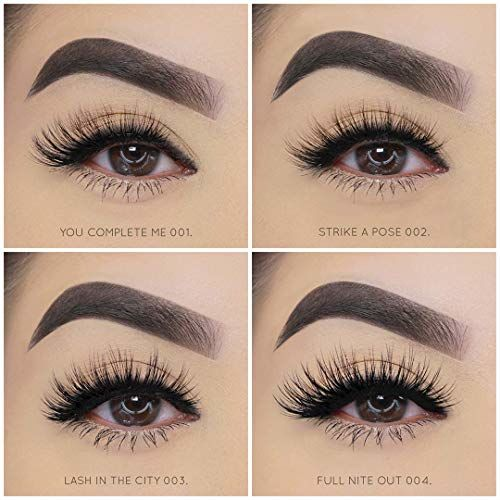 Colorbar Pro Eyelashes-You Complete Me, Black (Pack of 2)
