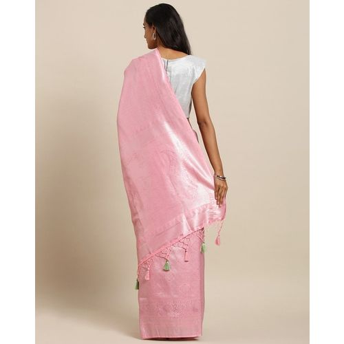 VASTRANAND Traditional Saree with Tassels Detail