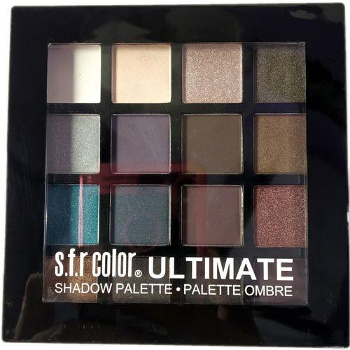 s.f.r color Ultimatte-ombre-Palette-Actractive-!6 Color Eye Palette 15.22 g(NUDE)