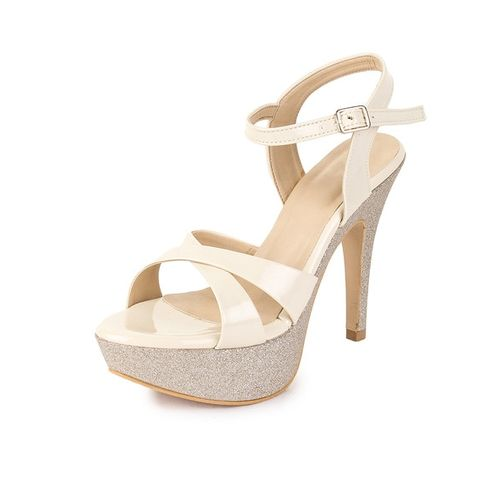 SHEZONE Strappy Stilettos with Ankle Loop