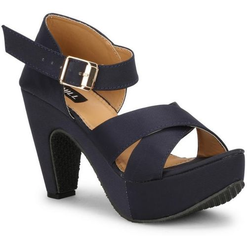 Denill Women Blue Heels