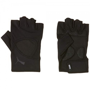 Puma Black Synthetic Solid Fitness Glove Set