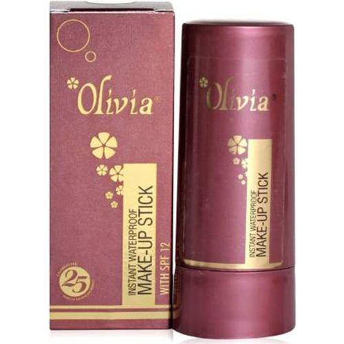 Olivia Pan Stick Concealer(Brown, 12 g)