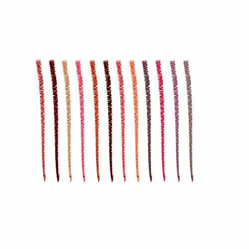 Swiss Beauty Bold Matte Lipliner Pencil, 12 Multi Color, (1.8g) Pack of 12