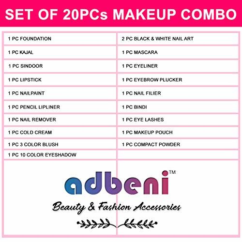 Adbeni All In One Daily Uses Beauty Pack Home Salon Kit with Gift Pack Makeup Pouch GC-929