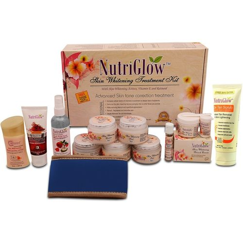 NutriGlow Skin Whitening Treatment Facial Combo(7 x 0.14)