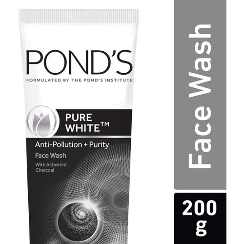 Ponds Pure White Anti Pollution + Purity Face Wash(200 g)