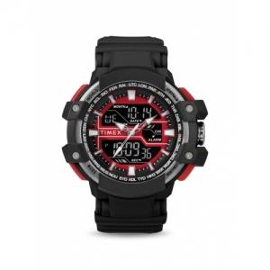 Timex TW5M22700 Black Resin Round Digital Watch
