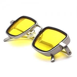 Stysol Yellow Night Vision Square Kabir Singh Sunglasses