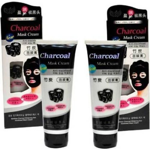 Keke pack of 2 best Charcoal Face Mask OilV(240 g)