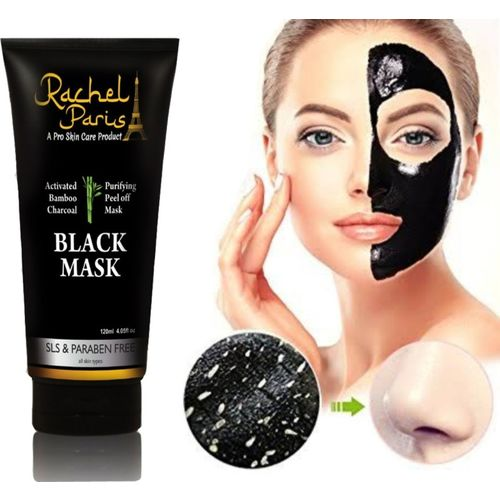 Rachel Paris Activated Charcoal Peel off mask 120 ml(120 ml)