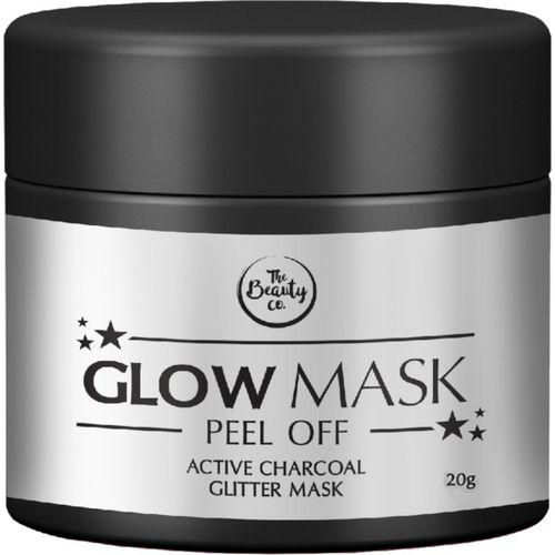 The Beauty Co. Charcoal Glitter Glow Mask(20 g)