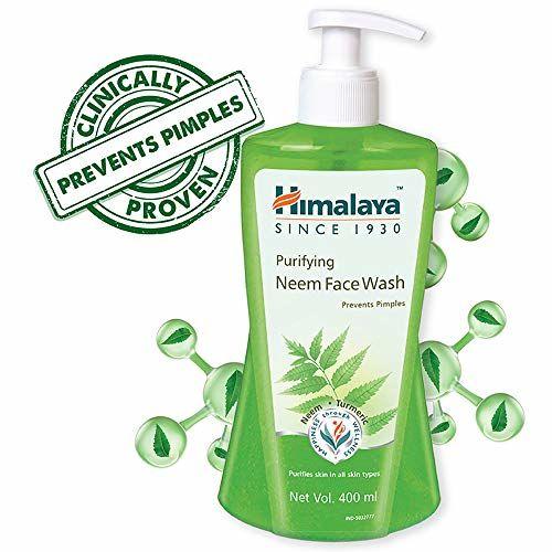 Himalaya Purifying Neem Face Wash, 400 ml & Himalaya Herbals Revitalizing Night Cream, 50ml