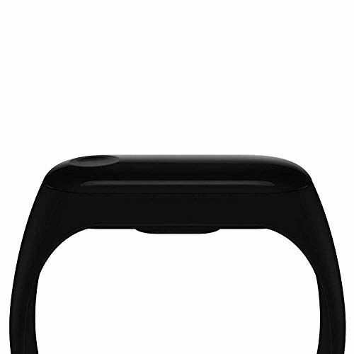 Callie M3 Smart Fitness Band Activity Watch Heart Rate Sensor Silicon Digital LED Bracelet Band Wrist Watch for All Kids boy Men Women (M3 Black)